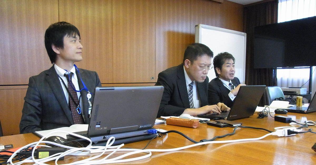 村田機械・石田さん、小山さん、小林さん