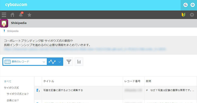 Shikipedia(シキペディア)